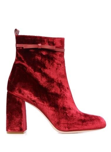 Red Valentino Bot Bordo